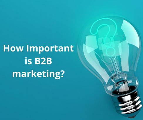 How important is B2B marketing